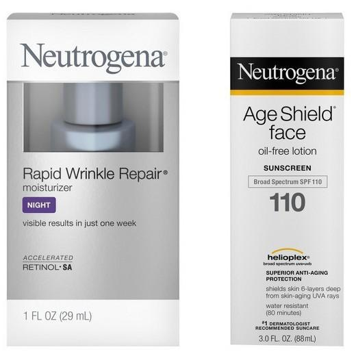 Buy Neutrogena®, Age Shield Face & Rapid Wrinkle Repair at Herbal Bless Supplement Store