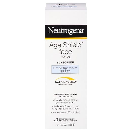 Buy Neutrogena®, Age Shield® Broad Spectrum Sunscreen Face Lotion- SPF 70 - 3 fl oz at Herbal Bless Supplement Store