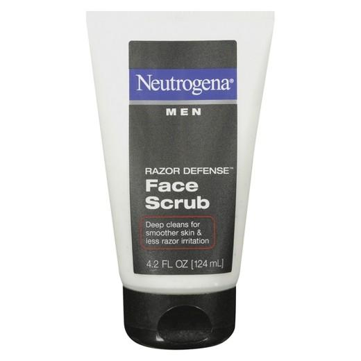 Buy Neutrogena®, Men Razor Defense® Face Scrub - 4.2 Fl. Oz at Herbal Bless Supplement Store