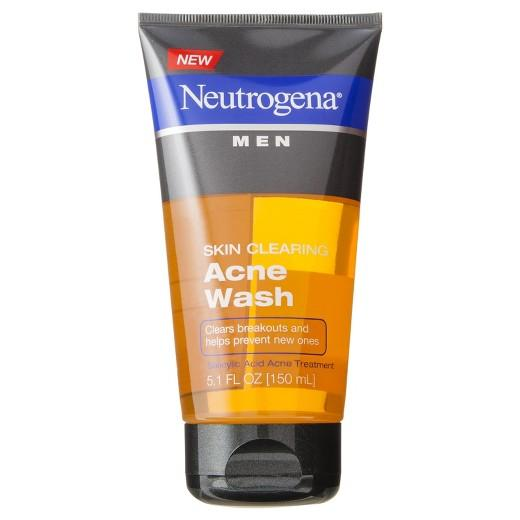 Buy Neutrogena®, Men Skin Clearing Acne Wash - 5.1 Fl Oz at Herbal Bless Supplement Store