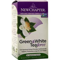 Buy New Chapter, Green & White Tea Force, 60 vcaps at Herbal Bless Supplement Store