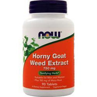 Buy Now, Horny Goat Weed Extract (750mg) 90 tabs at Herbal Bless Supplement Store
