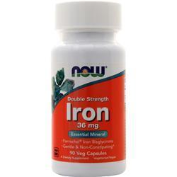 Buy Now, Iron - Double Strength (36mg) 90 vcaps at Herbal Bless Supplement Store