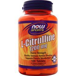 Buy Now, L-Citrulline (1200mg) 120 tabs at Herbal Bless Supplement Store