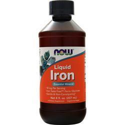Buy Now, Liquid Iron, 8 fl.oz at Herbal Bless Supplement Store