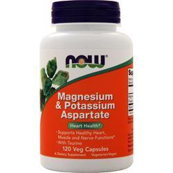 Buy Now, Magnesium & Potassium Aspartate, 120 caps at Herbal Bless Supplement Store