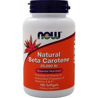 Buy Now Natural Beta-Carotene (25,000 IU) at Herbal Bless Supplement Store