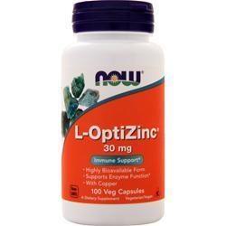 Buy Now, Opti L-Zinc, 100 vcaps at Herbal Bless Supplement Store