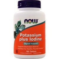 Buy Now, Potassium plus Iodine, 180 tabs at Herbal Bless Supplement Store