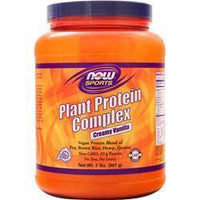 Buy Now, Vegan Plant Protein Complex, Creamy Vanilla 2 lbs at Herbal Bless Supplement Store