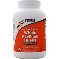 Buy Now, Whole Psyllium Husks - Certified Organic, 12 oz at Herbal Bless Supplement Store