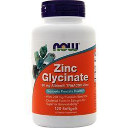 Buy Now, Zinc Glycinate, 120 sgels at Herbal Bless Supplement Store