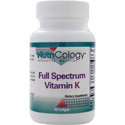 Buy Nutricology, Full Spectrum Vitamin K, 90 sgels at Herbal Bless Supplement Store