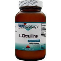 Buy Nutricology, L-Citrulline, 100 grams at Herbal Bless Supplement Store