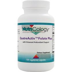 Buy Nutricology, QuatreActiv Folate Plus with Enhanced Antioxidant Support, 120 vcaps at Herbal Bless Supplement Store