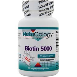Buy Nutricology,s Biotin 500, 60 vcaps at Herbal Bless Supplement Store