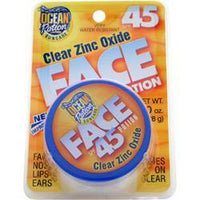 Buy Ocean Potion, Clear Zinc Oxide Face Potion SPF 45, 1 oz at Herbal Bless Supplement Store