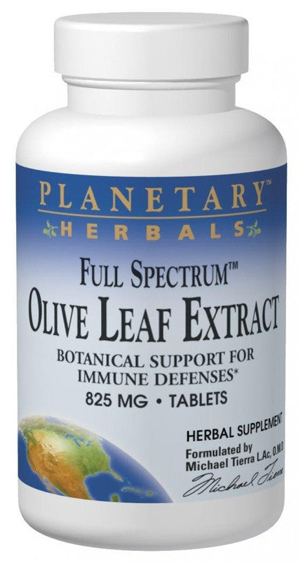 Buy Olive Leaf Extract 825mg Full Spectrum™ Std 15% Oleuropein, 30 tablet at Herbal Bless Supplement Store