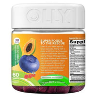 Buy Olly, Kids' Super Foods Multivitamin Go Go Grape Gummies - 60ct at Herbal Bless Supplement Store
