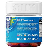 Buy Olly, The Perfect Men's Multi-Vitamin Blackberry Blitz Vitamin Gummies - 90ct at Herbal Bless Supplement Store
