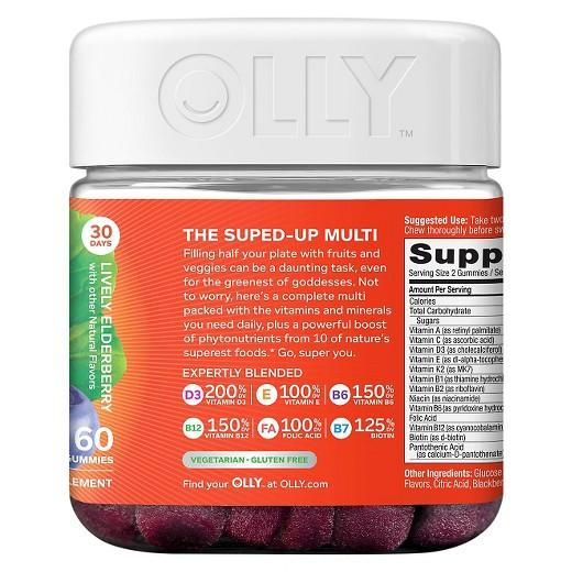 Buy Olly, Women's Super Foods Multivitamins - 60ct at Herbal Bless Supplement Store