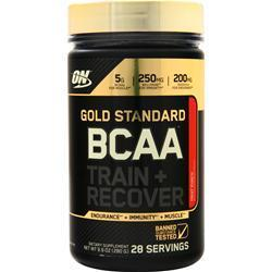 Buy Optimum Nutrition Gold Standard BCAA Train + Recover at Herbal Bless Supplement Store