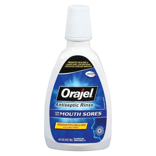 Buy Orajel ™, Antiseptic Mouth Sore Rinse at Herbal Bless Supplement Store