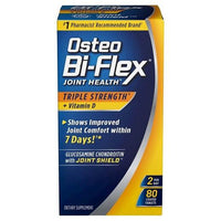 Buy Osteo Bi-Flex, Triple Strength + Vitamin D Joint Health Coated Tablets - 80ct at Herbal Bless Supplement Store