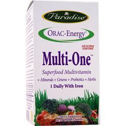 Buy Paradise Herbs, Orac-Energy Multi One with Iron, 60 vcaps at Herbal Bless Supplement Store
