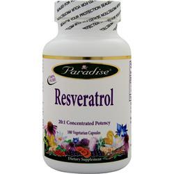 Buy Paradise Herbs, Resveratrol, 180 vcaps at Herbal Bless Supplement Store