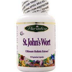 Buy Paradise Herbs, St. John's Wort, 90 vcaps at Herbal Bless Supplement Store