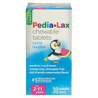 Buy Pedialax, Children's Chewable Saline Laxative Tablets - 30 Count at Herbal Bless Supplement Store