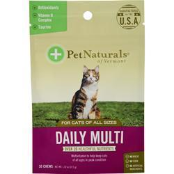 Buy Pet Naturals Of Vermont, Daily Multi for Cats of All Sizes, 30 chews at Herbal Bless Supplement Store