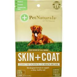 Buy Pet Naturals Of Vermont, Skin plus Coat for Dogs of All Sizes, 30 chews at Herbal Bless Supplement Store