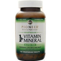 Buy Pioneer, 1+ MultiVitamin and MultiMineral, 120 tabs at Herbal Bless Supplement Store