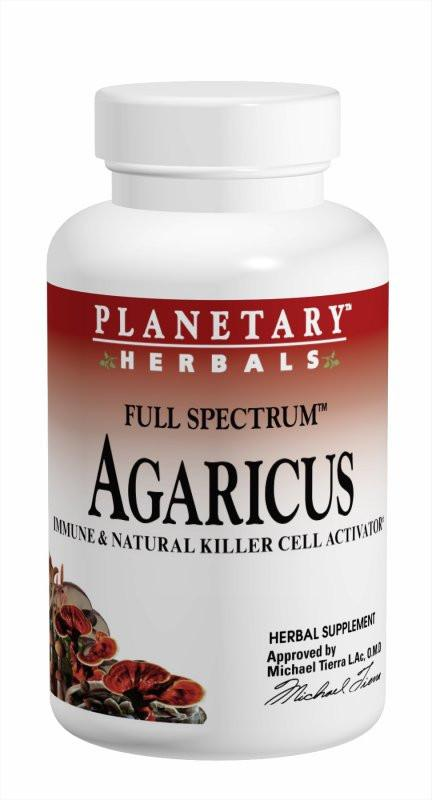 Buy PLANETARY HERBALS, Agaricus Extract Full Spectrum™, Capsules at Herbal Bless Supplement Store