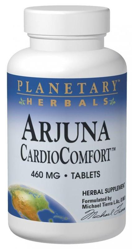 Buy PLANETARY HERBALS, Arjuna CardioComfort™ , Tablets at Herbal Bless Supplement Store