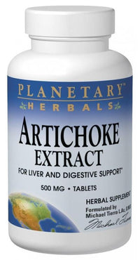 Buy PLANETARY HERBALS, Artichoke Extract 500mg,Tablets at Herbal Bless Supplement Store