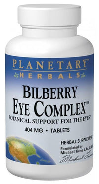 Buy PLANETARY HERBALS, Bilberry Eye Complex™, Tablets at Herbal Bless Supplement Store