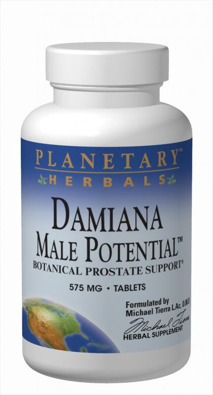 Buy Planetary Herbals, Damiana Male Potential™, 45 tablet at Herbal Bless Supplement Store