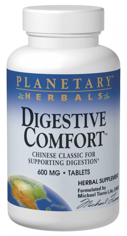 Buy PLANETARY HERBALS, Digestive Comfort™, 60 tablet at Herbal Bless Supplement Store