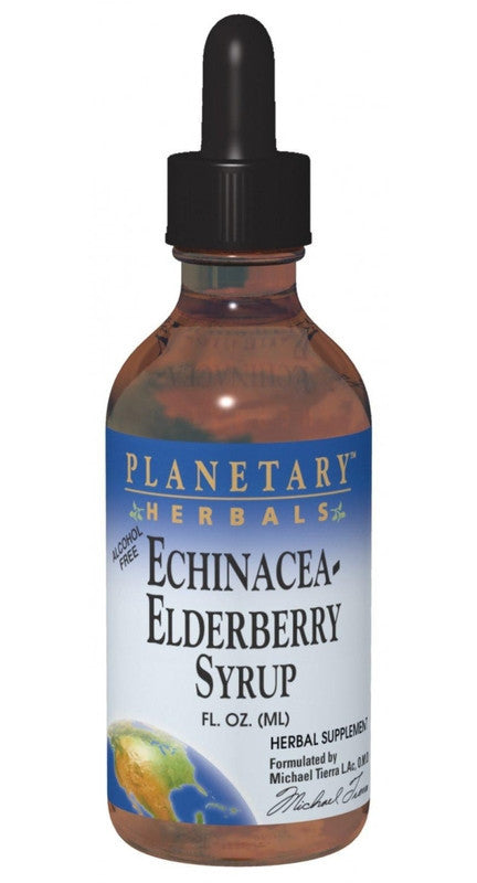 Buy PLANETARY HERBALS, Echinacea-Elderberry Syrup™, 2 oz at Herbal Bless Supplement Store
