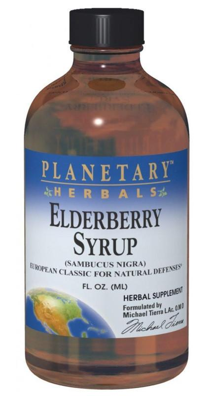 Buy PLANETARY HERBALS, Elderberry (Sambucus) Syrup, 8 oz at Herbal Bless Supplement Store