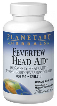 Buy PLANETARY HERBALS, Feverfew Head Aid™, 100 tablet at Herbal Bless Supplement Store