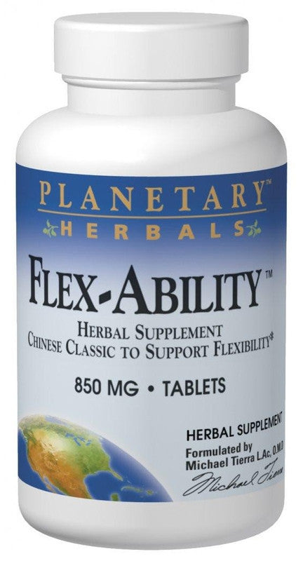 Buy PLANETARY HERBALS, Flex-Ability™, 120 tablet at Herbal Bless Supplement Store