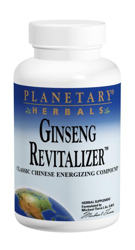 Buy PLANETARY HERBALS, Ginseng Revitalizer™, 180 tablet at Herbal Bless Supplement Store
