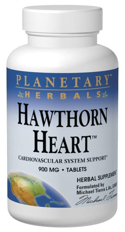 Buy PLANETARY HERBALS, Hawthorn Heart™, 60 tablet at Herbal Bless Supplement Store