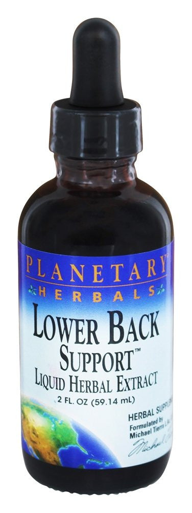 Buy PLANETARY HERBALS, Lower Back Support™, 2 oz at Herbal Bless Supplement Store