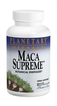 Buy PLANETARY HERBALS, Maca Supreme™ Vegetarian, 50 capsules at Herbal Bless Supplement Store