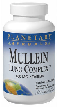 Buy PLANETARY HERBALS, Mullein Lung Complex™, 15 tablet at Herbal Bless Supplement Store